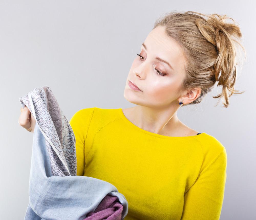 Пятно на ткани