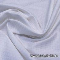 Жаккард (о) белый - итальянские ткани Тессутидея
