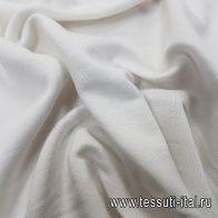 Трикотаж футер хлопок (о) айвори - итальянские ткани Тессутидея арт. 12-1039