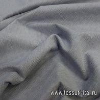 Трикотаж футер хлопок (о) серый - итальянские ткани Тессутидея арт. 12-1037