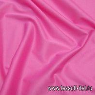 Трикотаж мерсеризованный хлопок (о) розовый - итальянские ткани Тессутидея