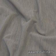 Вельвет (о) серый меланж - итальянские ткани Тессутидея