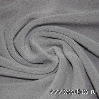 Трикотаж флис (о) серый - итальянские ткани Тессутидея