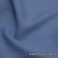 Лен (о) светло-синий - итальянские ткани Тессутидея