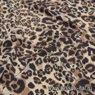 Крепдешин (н) хищный принт - итальянские ткани Тессутидея арт. 10-2064