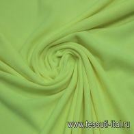 Трикотаж флис (о) ярко-желтый - итальянские ткани Тессутидея