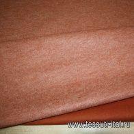 Декоративный фильц (о) терракотовый ш-100см - итальянские ткани Тессутидея арт. 09-0884