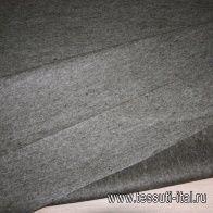 Декоративный фильц (о) бежево-зеленый меланж ш-100см - итальянские ткани Тессутидея арт. 09-0764