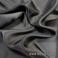 Подкладочная (о) темно-коричневая - итальянские ткани Тессутидея