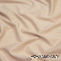 Джерси вискоза (о) бежевое - итальянские ткани Тессутидея
