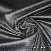 Пальтовая (о) черно-серая - итальянские ткани Тессутидея