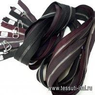 Молния металл разъемная до 120см - итальянские ткани Тессутидея арт. F-4227