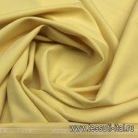 Плательная шерсть супер (о) Leitmotiv светло-желтая - итальянские ткани Тессутидея