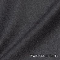 Пальтовая кашемир двухслойный (о) темно-серая - итальянские ткани Тессутидея арт. 09-1880