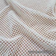 Кружевное полотно (о) молочное в стиле Scervino - итальянские ткани Тессутидея