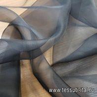 Органза (о) черная - итальянские ткани Тессутидея арт. 10-1842