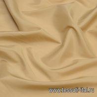 Подкладочная стрейч (о) бежевая Bemberg - итальянские ткани Тессутидея