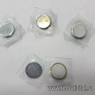 Кнопка магнитная d-20мм  - итальянские ткани Тессутидея арт. F-5163