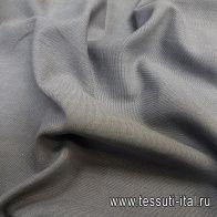 Хлопок для тренча (о) серый меланж - итальянские ткани Тессутидея