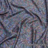 Плательная вискоза (н) пестрый принт - итальянские ткани Тессутидея арт. 04-1396