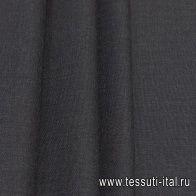 Костюмная (о) темно-серая - итальянские ткани Тессутидея