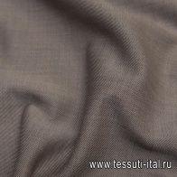 Костюмная дабл двухслойная стрейч (о) коричневая/синяя Loro Piana - итальянские ткани Тессутидея