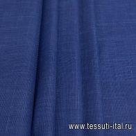 Костюмная (о) синяя меланж Loro Piana - итальянские ткани Тессутидея