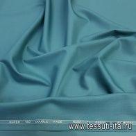 Плательная шерсть супер (о) Leitmotiv морская волна - итальянские ткани Тессутидея