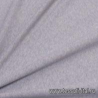 Футер хлопок (о) серый - итальянские ткани Тессутидея
