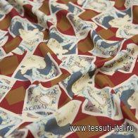 Крепдешин (н) купюры - итальянские ткани Тессутидея