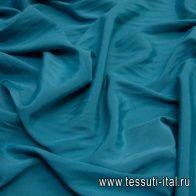 Маркизет (о) бирюзовый - итальянские ткани Тессутидея