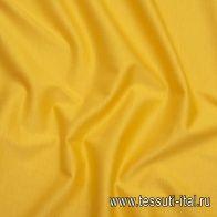 Трикотаж мерсеризованный хлопок (о) оранжево-желтый - итальянские ткани Тессутидея