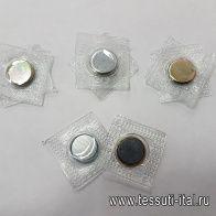 Кнопка магнитная d-15мм  - итальянские ткани Тессутидея арт. F-5164