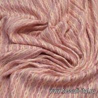 Шанель с люрексом (н) розово-бежевая - итальянские ткани Тессутидея