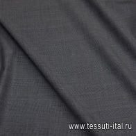 Костюмная супер 120 (н) серая меланжевая полоска - итальянские ткани Тессутидея арт. 05-4054