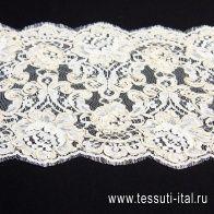 Кружево кордовое (о) молочное  - итальянские ткани Тессутидея