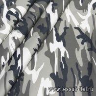 Джинса (н) орнамент милитари - итальянские ткани Тессутидея