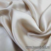 Подкладочная (о) бежевая - итальянские ткани Тессутидея