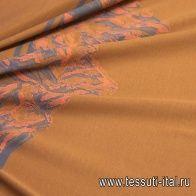 Трикотаж мерсеризованный хлопок купон (2м) (о) светло-коричневый в стиле Gucci - итальянские ткани Тессутидея арт. 12-1027