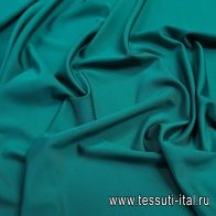 Джерси вискоза стрейч (о) бирюзовое - итальянские ткани Тессутидея
