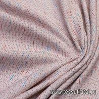Шанель (н) бело-красно-розово-голубая - итальянские ткани Тессутидея