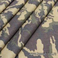 Плащевая (н) орнамент милитари - итальянские ткани Тессутидея