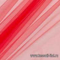 Сетка плательная (о) красная - итальянские ткани Тессутидея арт. 03-5860