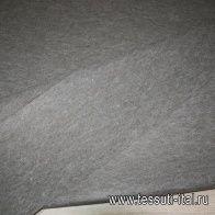 Декоративный фильц (о) коричнево-зеленый меланж ш-100см - итальянские ткани Тессутидея арт. 09-0879