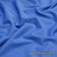 Джинса стрейч диагональ (о) голубая - итальянские ткани Тессутидея