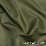 Подкладочная (о) зеленая - итальянские ткани Тессутидея