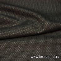 Костюмная (н) черно-серая ш-150см - итальянские ткани Тессутидея арт. 05-2285