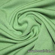 Трикотаж флис (о) салатовый - итальянские ткани Тессутидея
