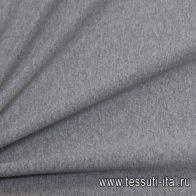 Футер с начесом хлопок (о) серый - итальянские ткани Тессутидея