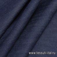 Джинса селвидж (о) темно-синяя - итальянские ткани Тессутидея арт. 01-6669